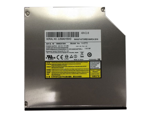 UJ-272 UJ272 9.5mm SATA Blu-ray BD DVD Burner Drive replace