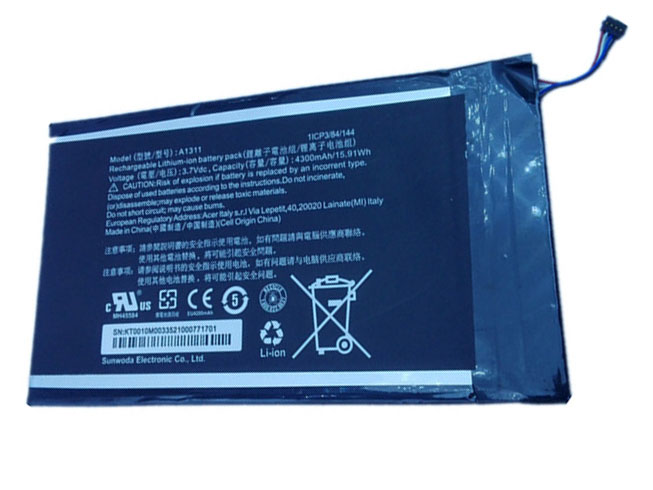 Acer A1311 battery