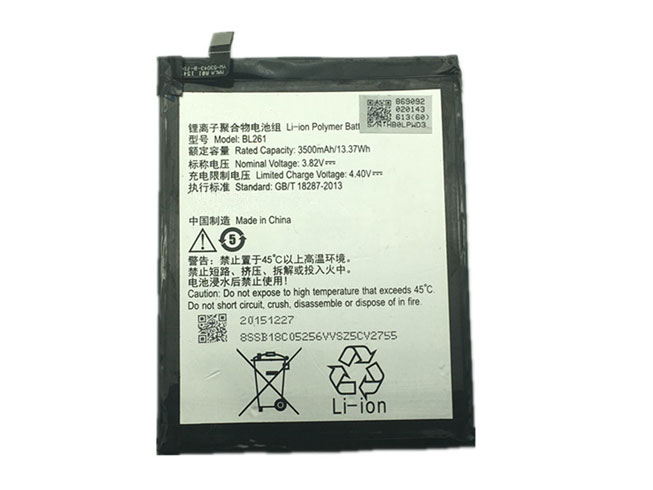 Lenovo BL261 battery