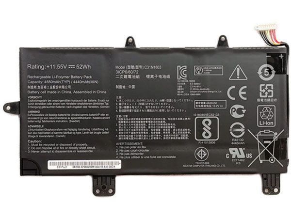 C31N1803 battery
