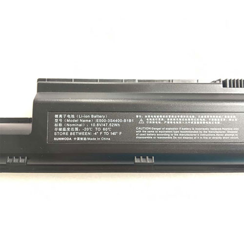CLEVO E500-3S4400-B1B1 Laptop Batteries for Clevo Hasee