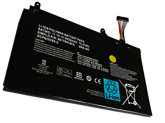 Gigabyte GNS-I60 battery