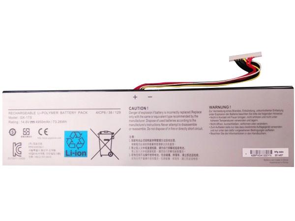 Gigabyte GX-17S battery