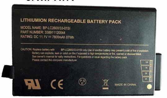 Getac BP-LC2600/33-0101SI battery