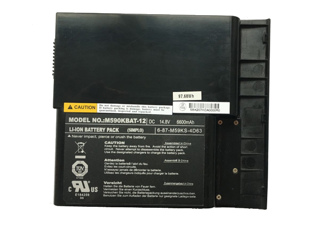 Clevo M590KBAT-12 battery