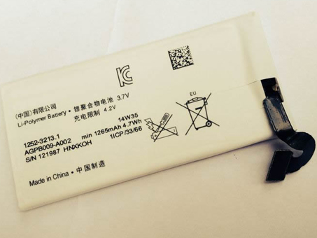 SONY AGPB009-A002 battery