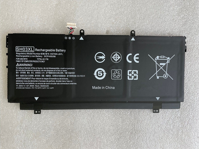 HP SH03XL battery