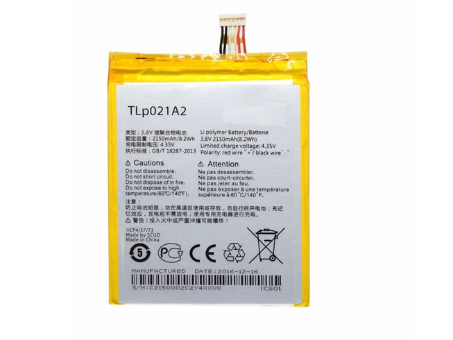 Alcatel TLP021A2 battery