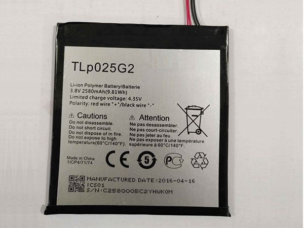 Alcatel TLp025G2 battery