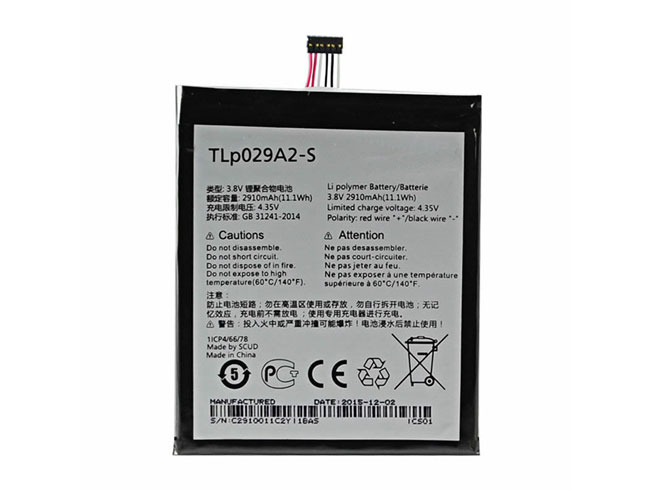 Alcatel TLP029A2-S battery