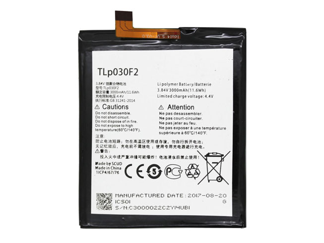 Alcatel TLP030F2 battery