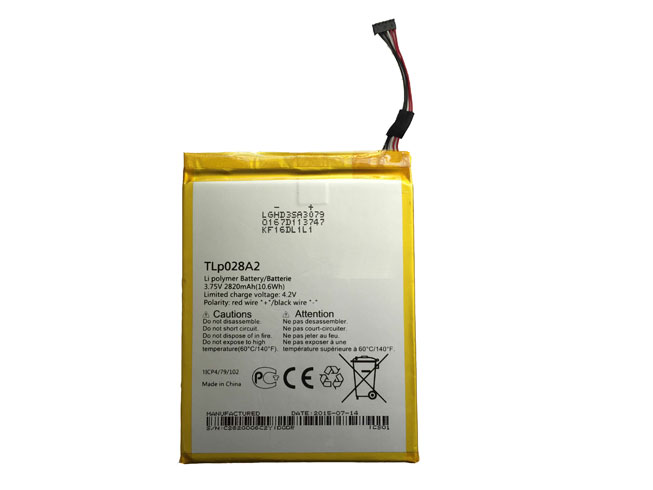 Alcatel TLp028AD battery