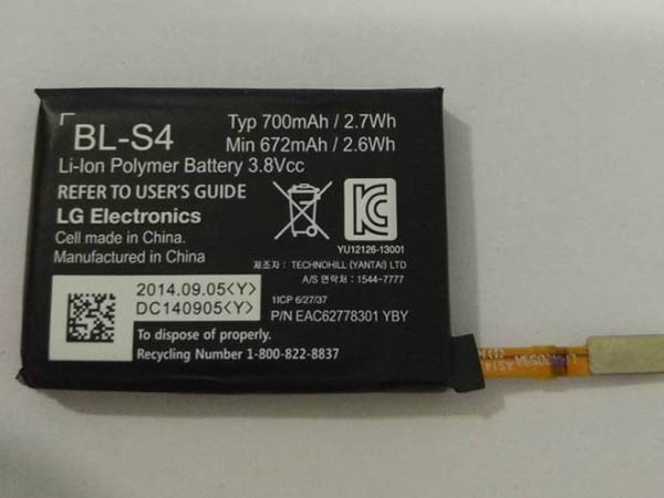 LG BL-S4 Watch Battery
