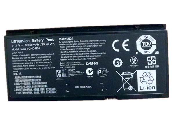 GIGABYTE GND-B30 battery