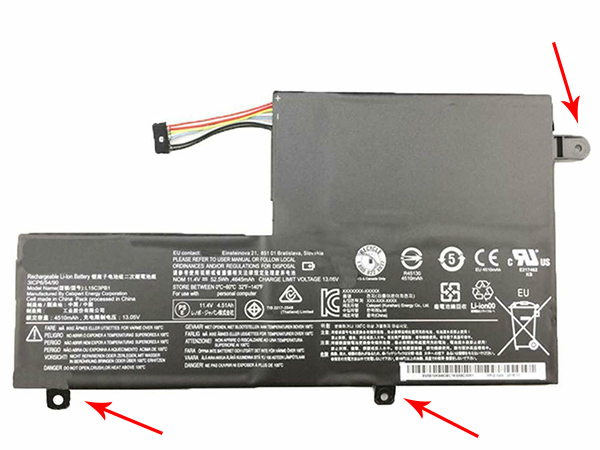 Lenovo Ideapad Flex 4 1470 1480 1580 Yoga 510